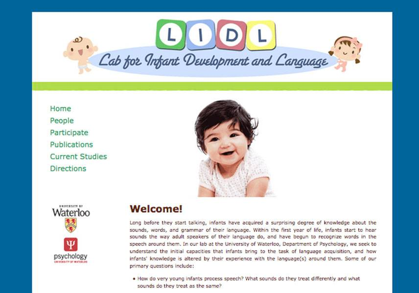 Lab for Infant Development and Language by Wenmin Chen
